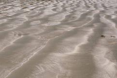 棕色颜色沙子背景和纹理照片  免版税库存照片