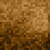 棕色马赛克 免版税库存照片
