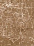 棕色grunge临时墙壁 库存照片