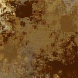棕色grunge纹理 免版税库存图片