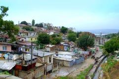 棚户区,瓦尔纳保加利亚 库存图片