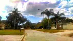森密诺尔人佛罗里达都市风景 库存图片