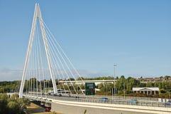 森德兰` s北尖顶桥梁 免版税图库摄影