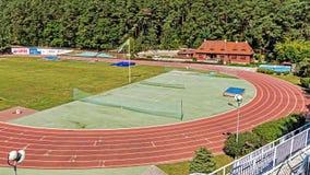 森林体育场 免版税库存照片