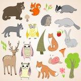 森林动物 库存照片