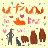 森林动物 图库摄影