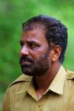 森林卫兵印地安人 免版税库存图片