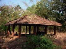 森林小屋 库存图片