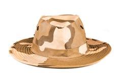 森林探险队帽子 免版税库存照片