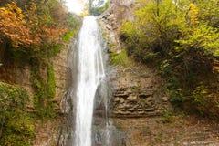 森林瀑布,乔治亚 库存照片