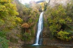 森林瀑布,乔治亚 免版税库存照片