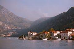 森林火灾在Montenegro 免版税库存照片