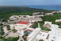 森林热带尤加坦 免版税图库摄影