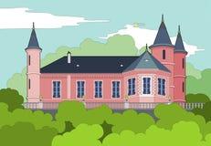 森林的城堡 免版税图库摄影