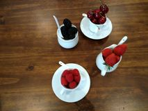 森林的果子 免版税库存照片