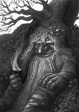 森林老板 免版税库存图片
