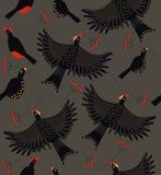 森林鸟群 免版税库存图片
