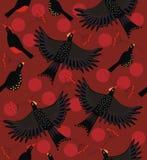 森林鸟群 免版税库存照片