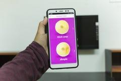 森美兰,马来西亚- 2018年8月30日:KnowYourLemons appli 免版税库存图片