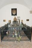 棺材路德维希II,巴伐利亚的国王 免版税库存图片