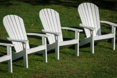 椅子三重奏  库存照片