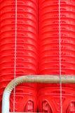 椅子不红色使用 库存照片