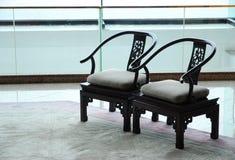 椅子二 免版税库存照片