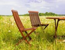 椅子二 图库摄影