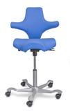 椅子人体工程的办公室 图库摄影