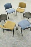 椅子会议 免版税库存图片