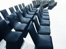 椅子位子行业务会议研讨会事件 免版税库存照片