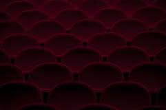 椅子倒空剧院 免版税库存图片