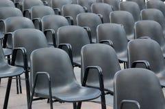 椅子倒空 免版税库存图片