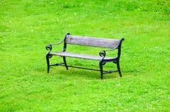 椅子公园 免版税库存照片