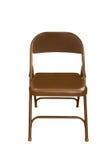 椅子剪报可折叠查出的路径 免版税库存照片