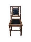 椅子剪报查出的路径葡萄酒白色 免版税库存图片