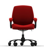 椅子办公室 库存例证