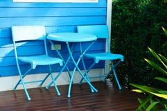 椅子和桌 图库摄影