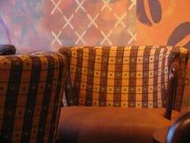 椅子咖啡店 免版税库存照片