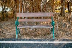 椅子在公园 库存图片