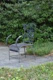椅子在公园 库存照片