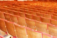 椅子在观众席 库存图片