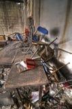 椅子堆 免版税图库摄影