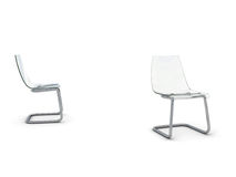 椅子塑料 库存例证