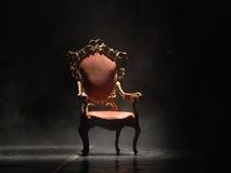 椅子塑造了老 免版税库存图片