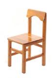 木椅子的孩子的 免版税库存照片
