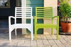 椅子安置放松 免版税库存照片