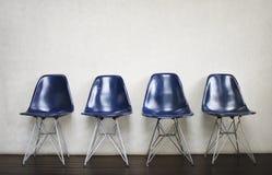 椅子家具室内空间都市空置概念 免版税库存图片