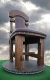 椅子巨大木 库存照片