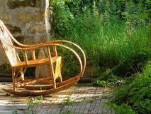 椅子摇摆 免版税图库摄影